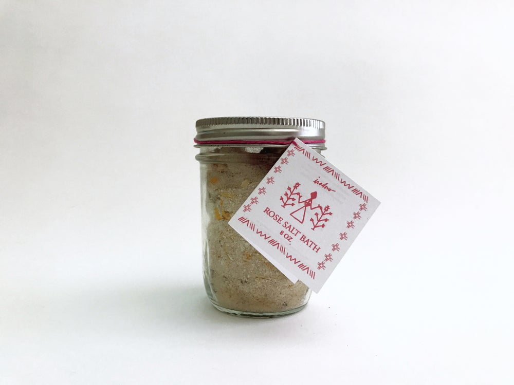 Image of Rose Salt Bath