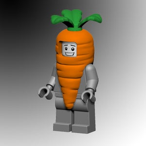 Image of Orange Carrot costume!