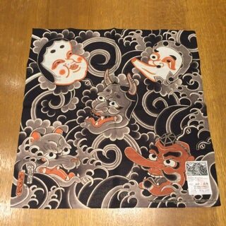 Image of MENCHIRASHI HANDKERCHIEF BY HORIHIRO