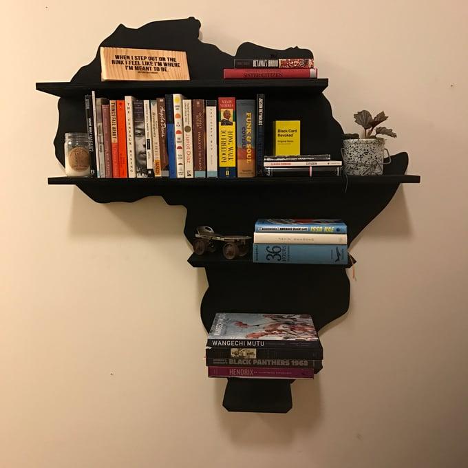 Image of Large Africa book shelf