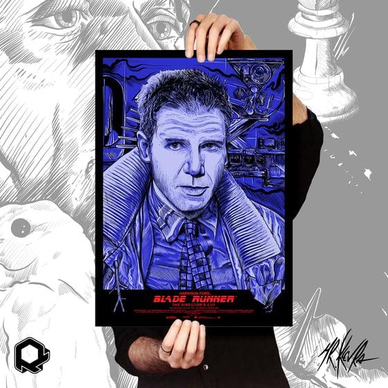 Image of Serigrafia Tribute Blade Runner (Deckard) by Mr.Klevra