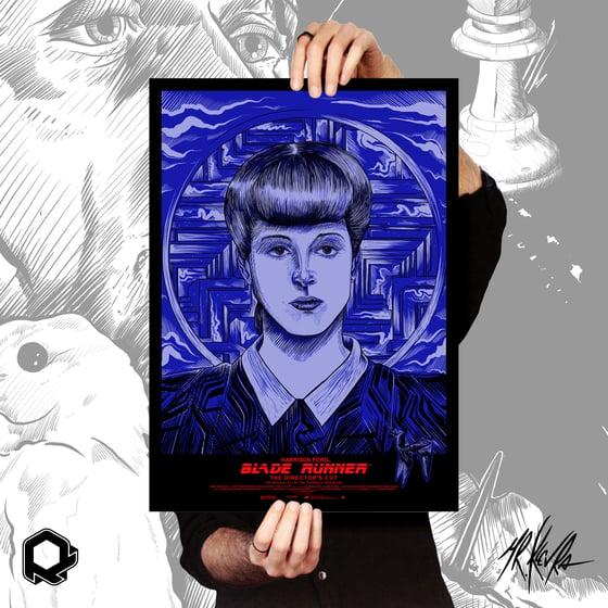 Image of Serigrafia Tribute Blade Runner (Rachael) by Mr.Klevra