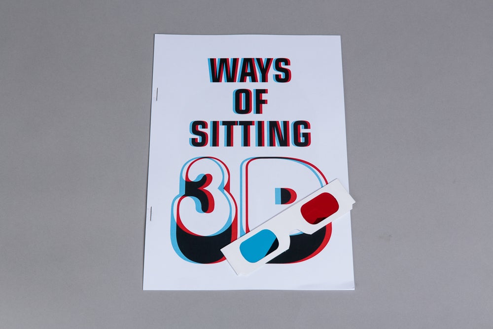 Matthew Darbyshire and Scott King Ways of Sitting 3D