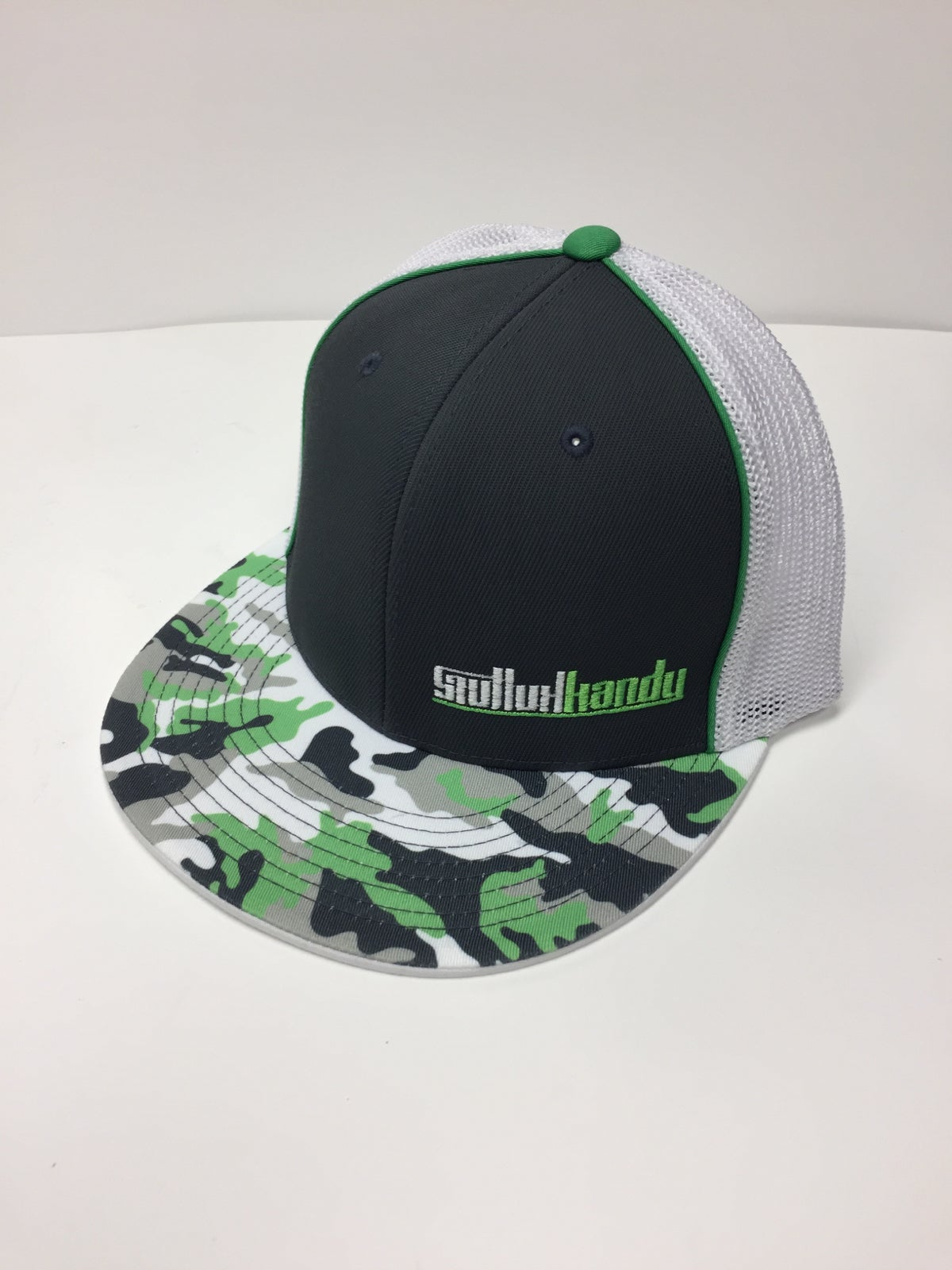 Image of Neon green camo - flex fit