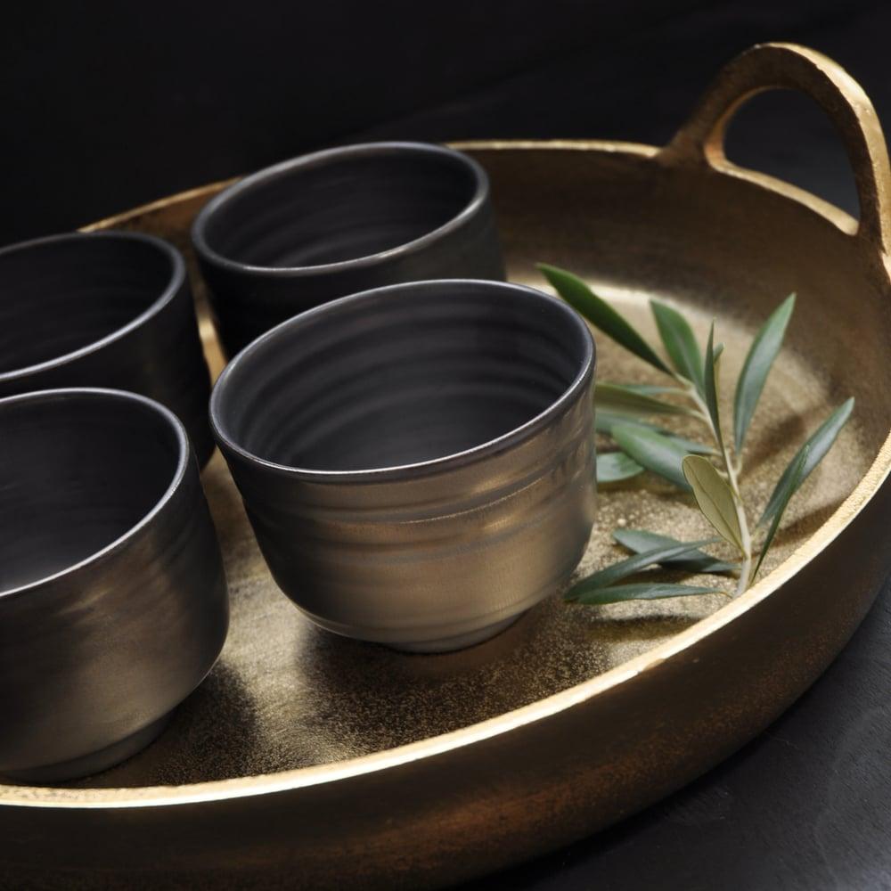 Image of Metallic Tea Bowl