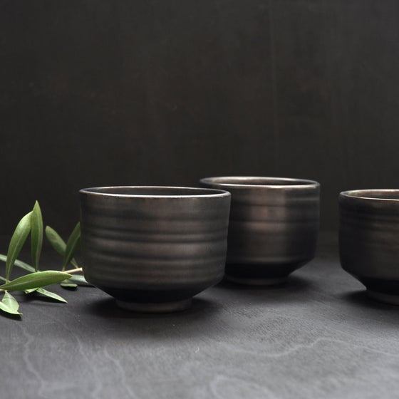 Image of Metallic Tea Bowl