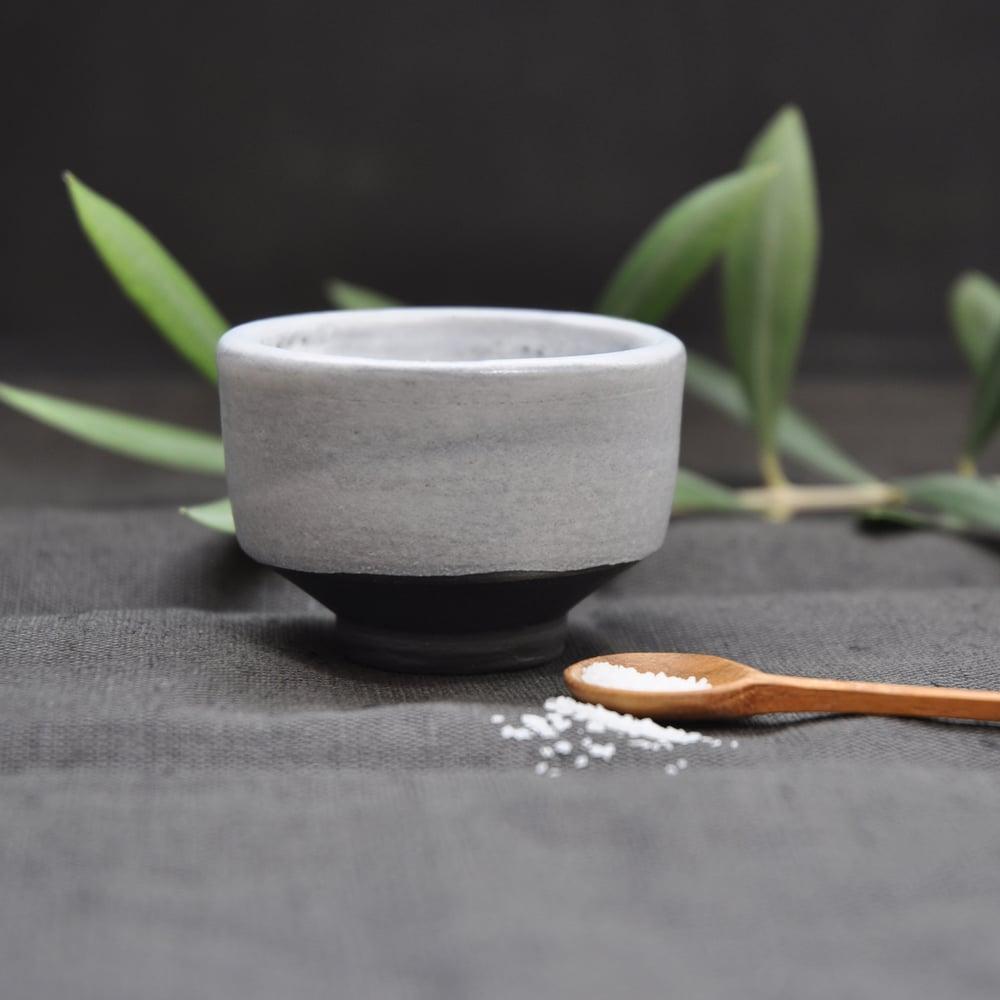 Image of Salt Cellar #2 w/ teak spoon