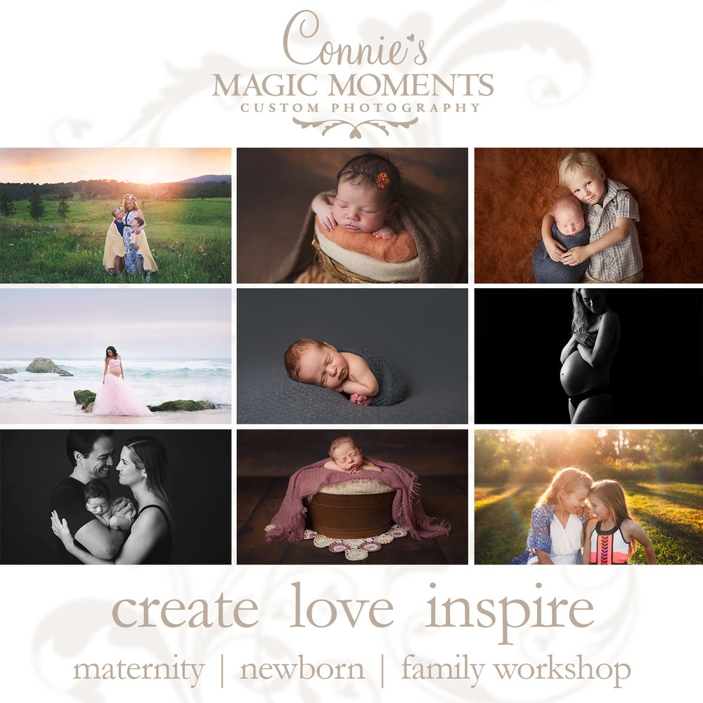Image of Create Love Inspire - The Art of Posing Maternity, Newborn & Family Workshop