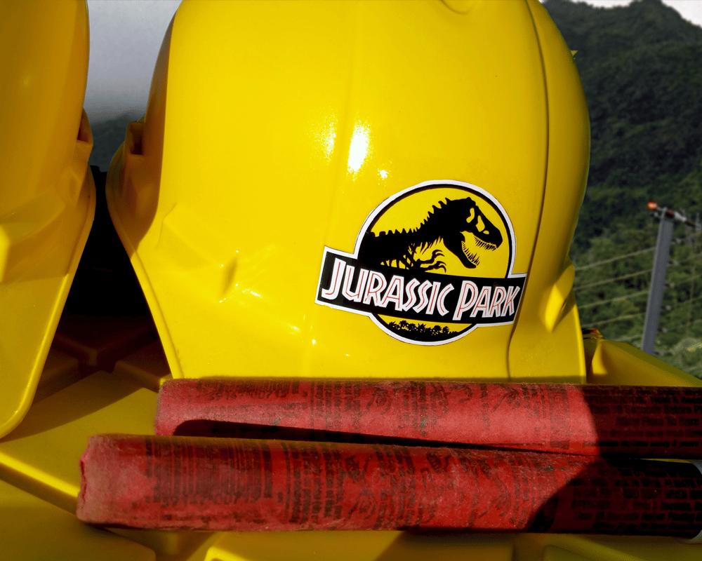 Jurassic Park Hard Hat
