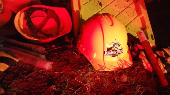 Image of Jurassic Park Hard Hat