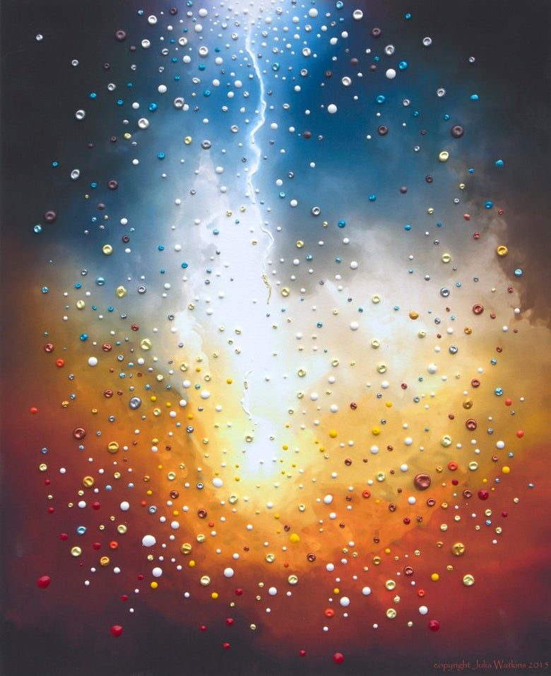 Image of The Creation Divine Energy Painting - Giclee Print