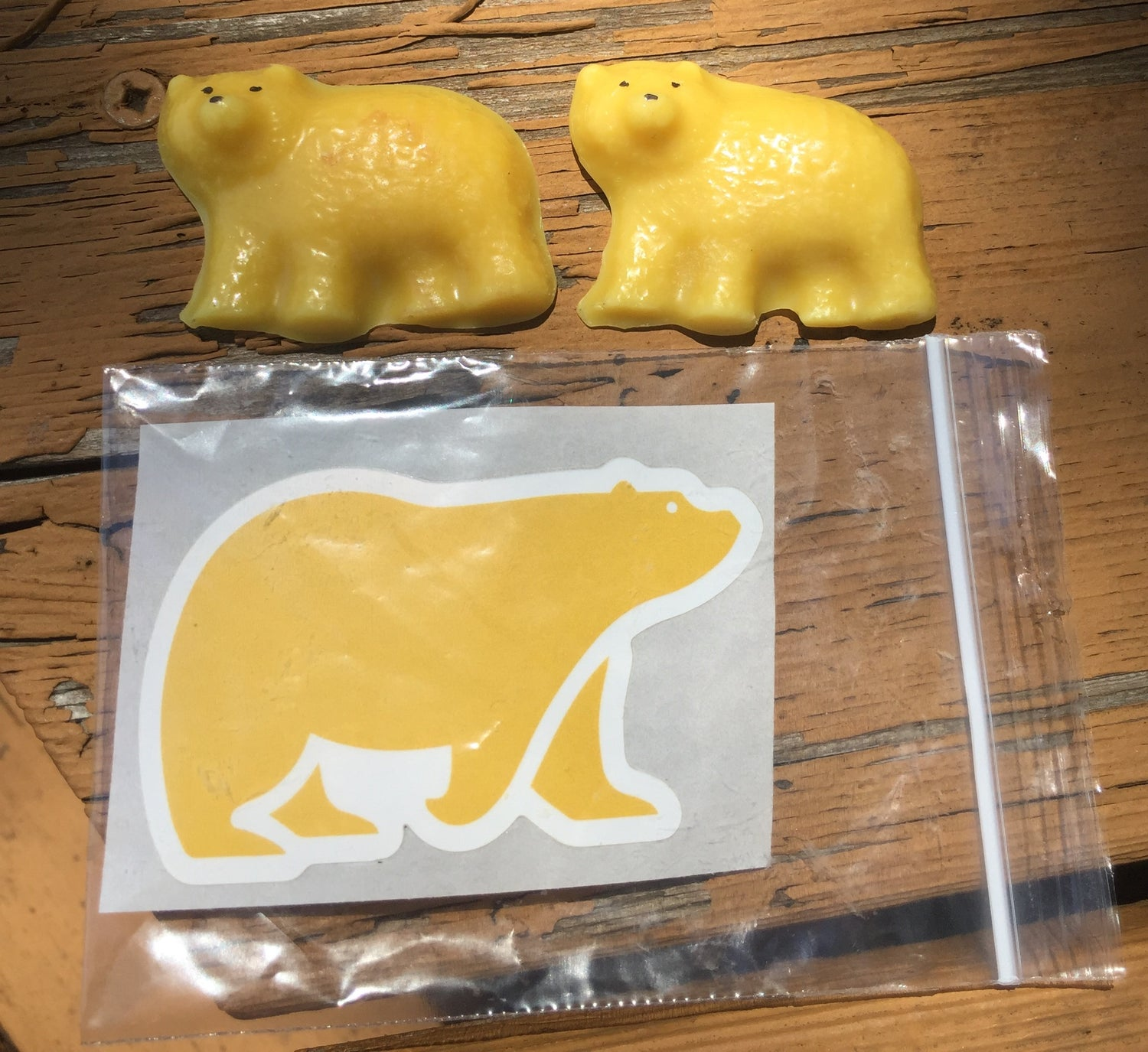 Image of Hungry Bear Mini Me Pocket Wax