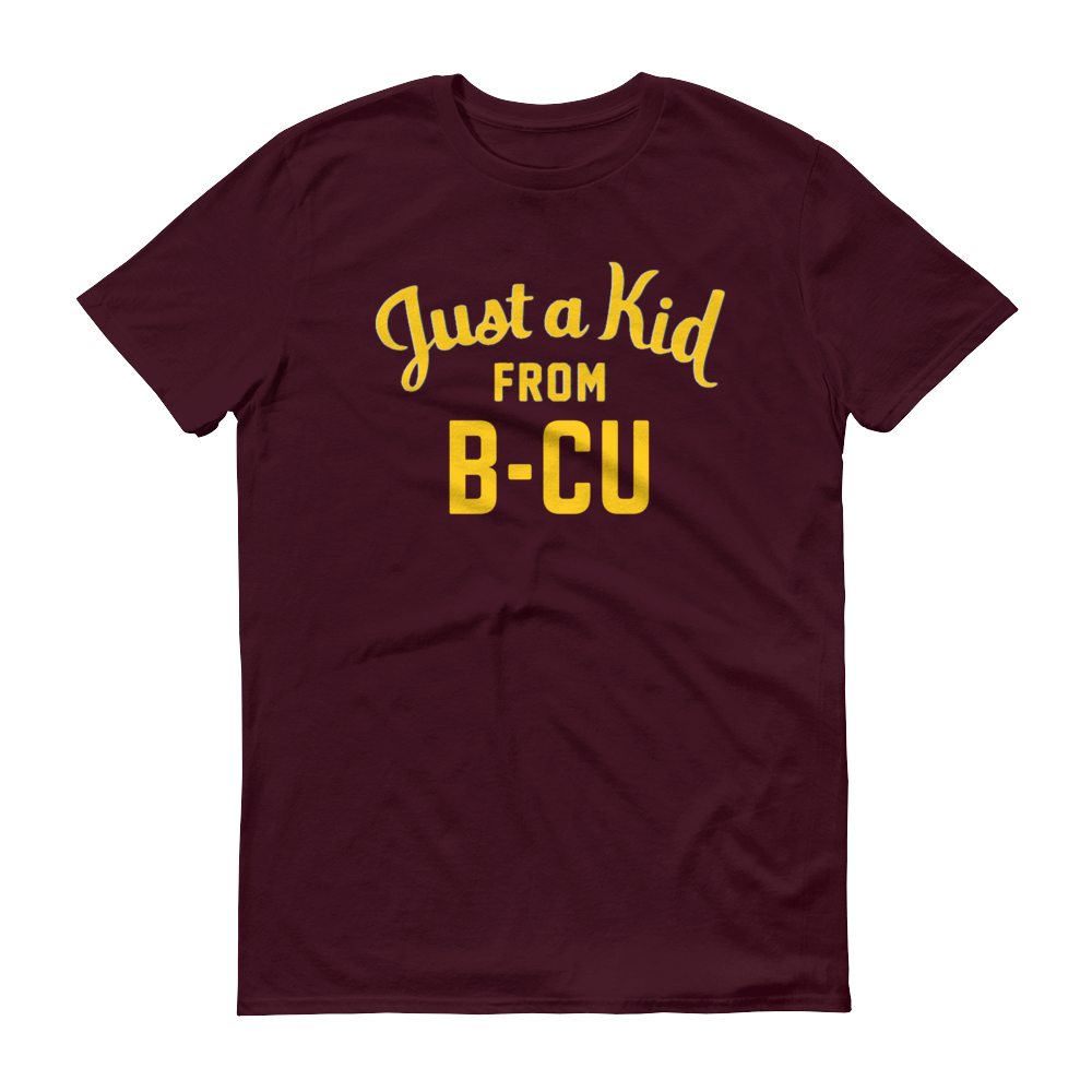 Image of A Kid From B-CU Shirt (Maroon or Black)