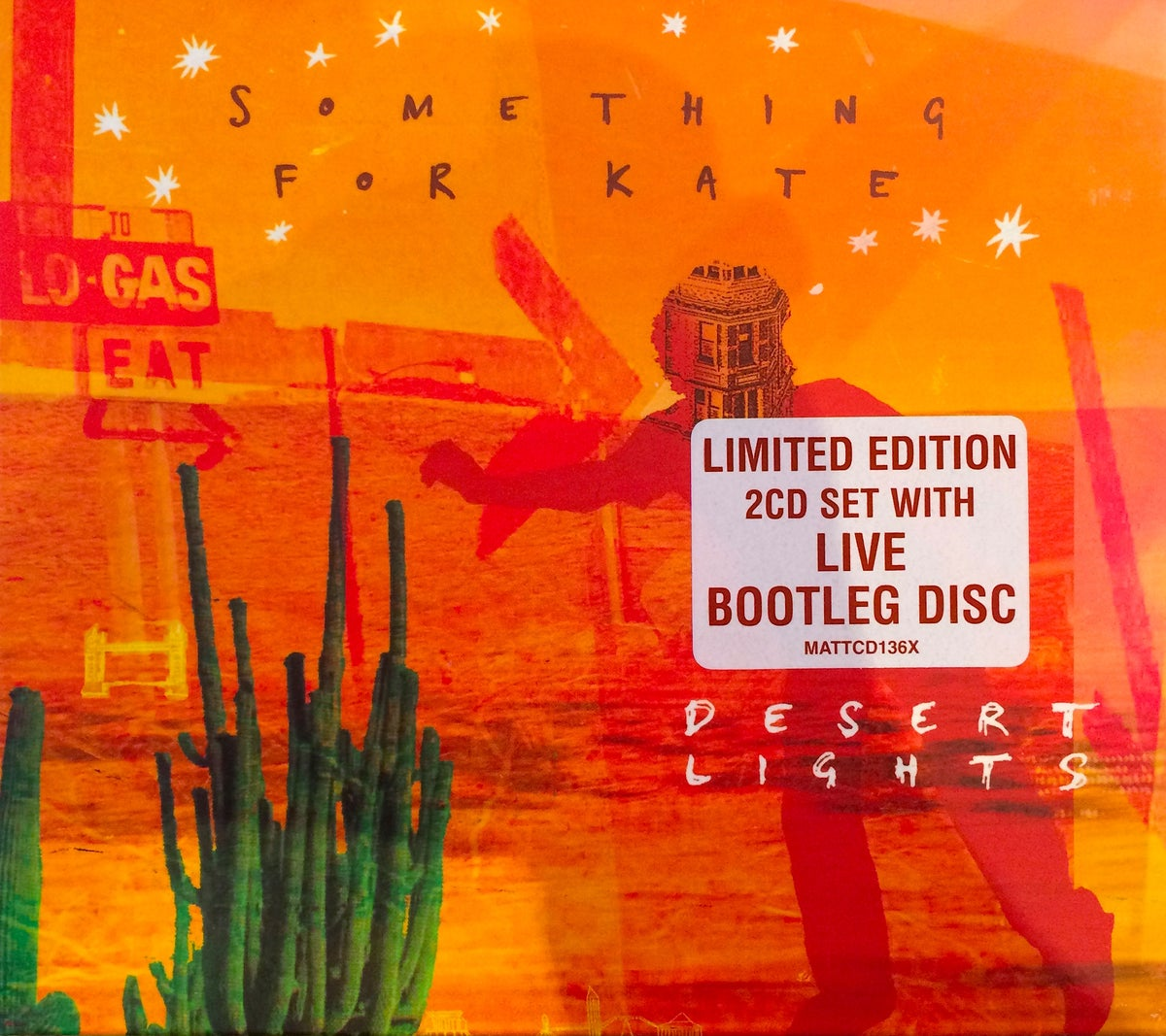 Image of Something for Kate - 'Desert Lights' 2XCD Limited Edition Digi pak Original