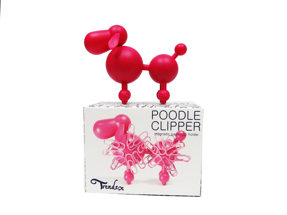 Image of Poodle Clipper - Cherry Red