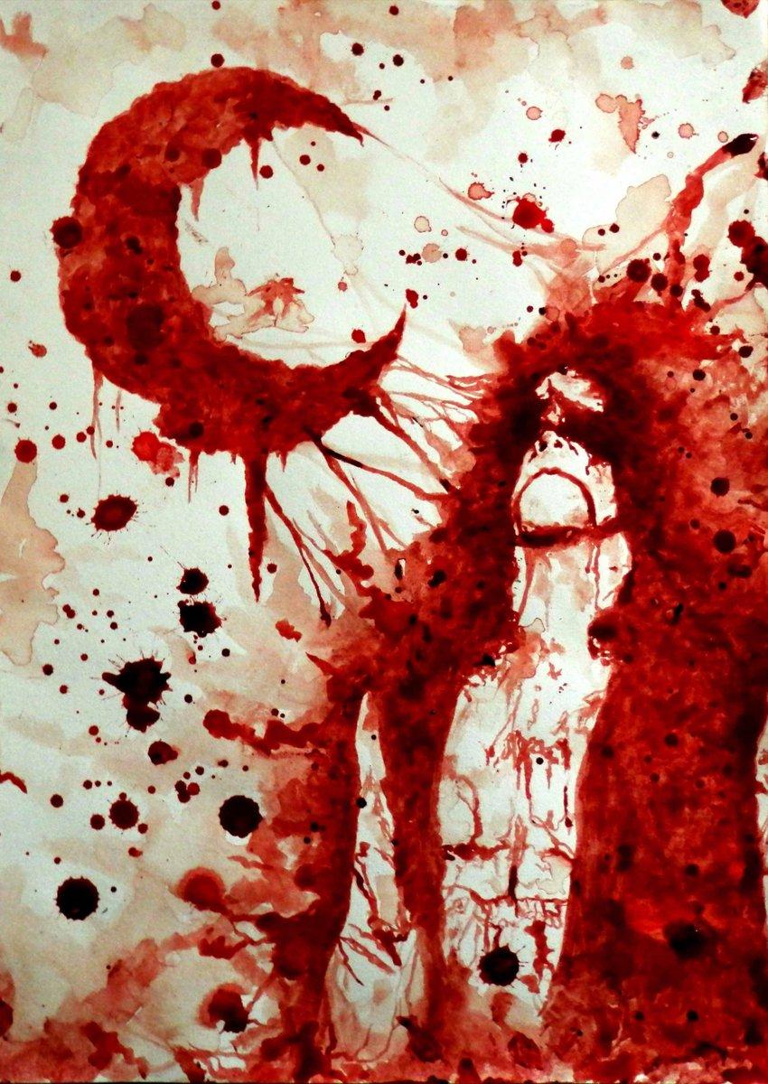 Красивая картинка кровь