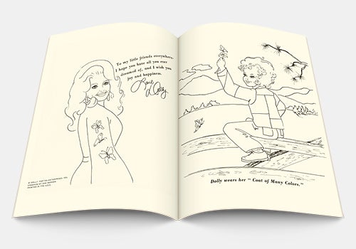 Image of Dolly Parton Coloring Book