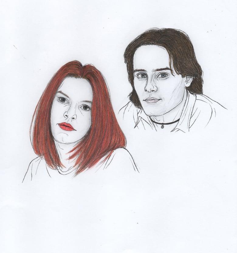 Image of my so called life original portrait
