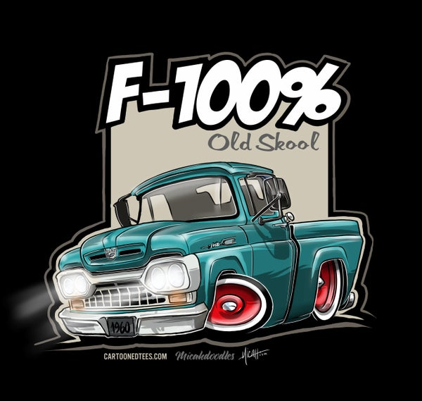 Image of '60 F100% Fleetside Aqua