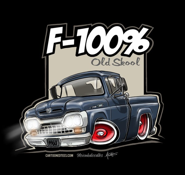 Image of '60 F100% Fleetside Dark Blue