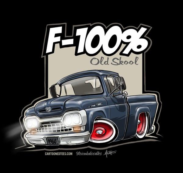 Image of '60 F100% Fleetside Dark Blue