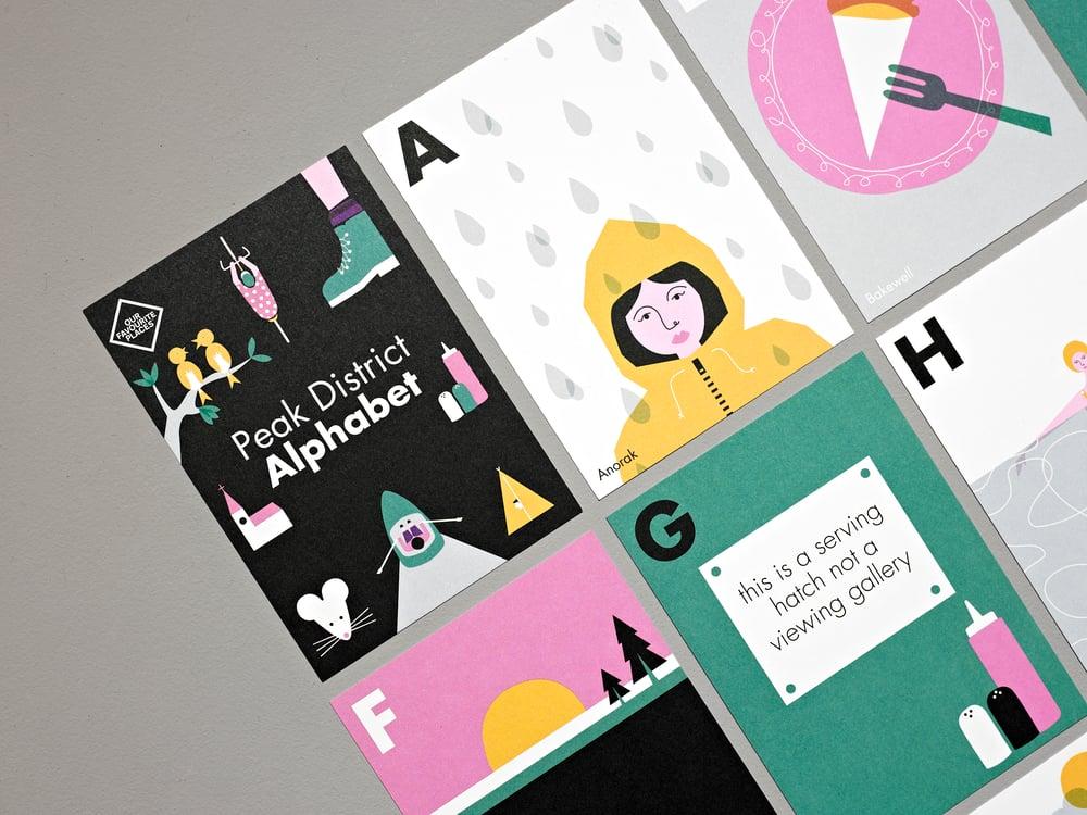 Image of Peak District Alphabet Postcards