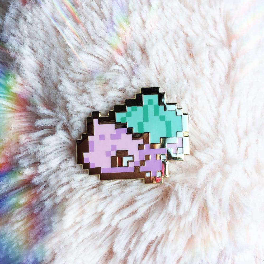 Image of 8bit Grass Dinosaur ♡v.3♡