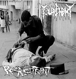 "Image of YOUR ENEMY / RECALCITRANT  split 7"""