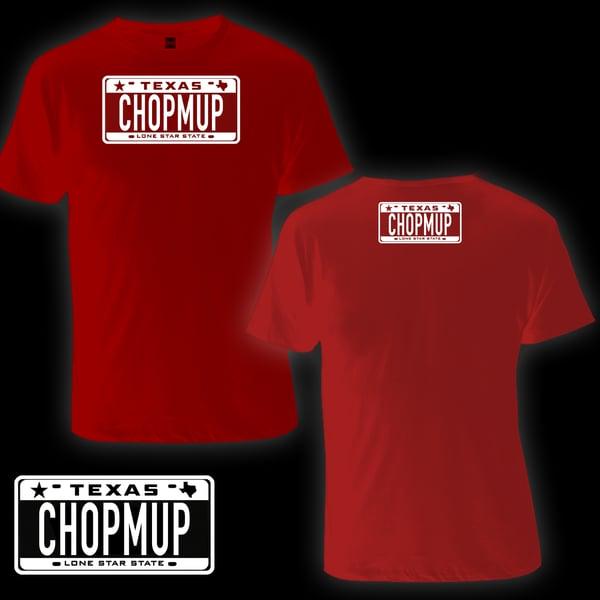 Image of CHOPMUP Logo tee (Red)