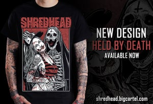 Image of Held By Death - T Shirt