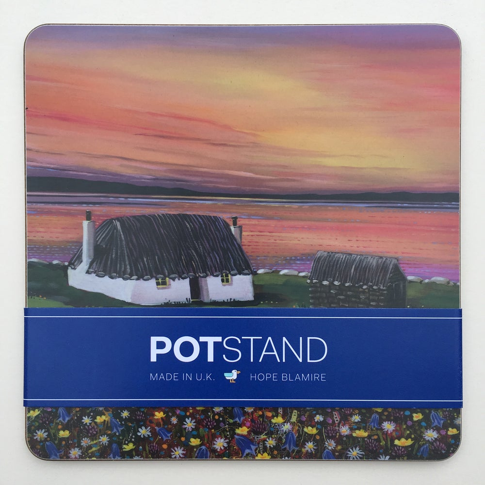 Image of North Uist sunset potstand