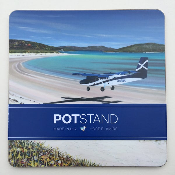 Image of Barra airport potstand