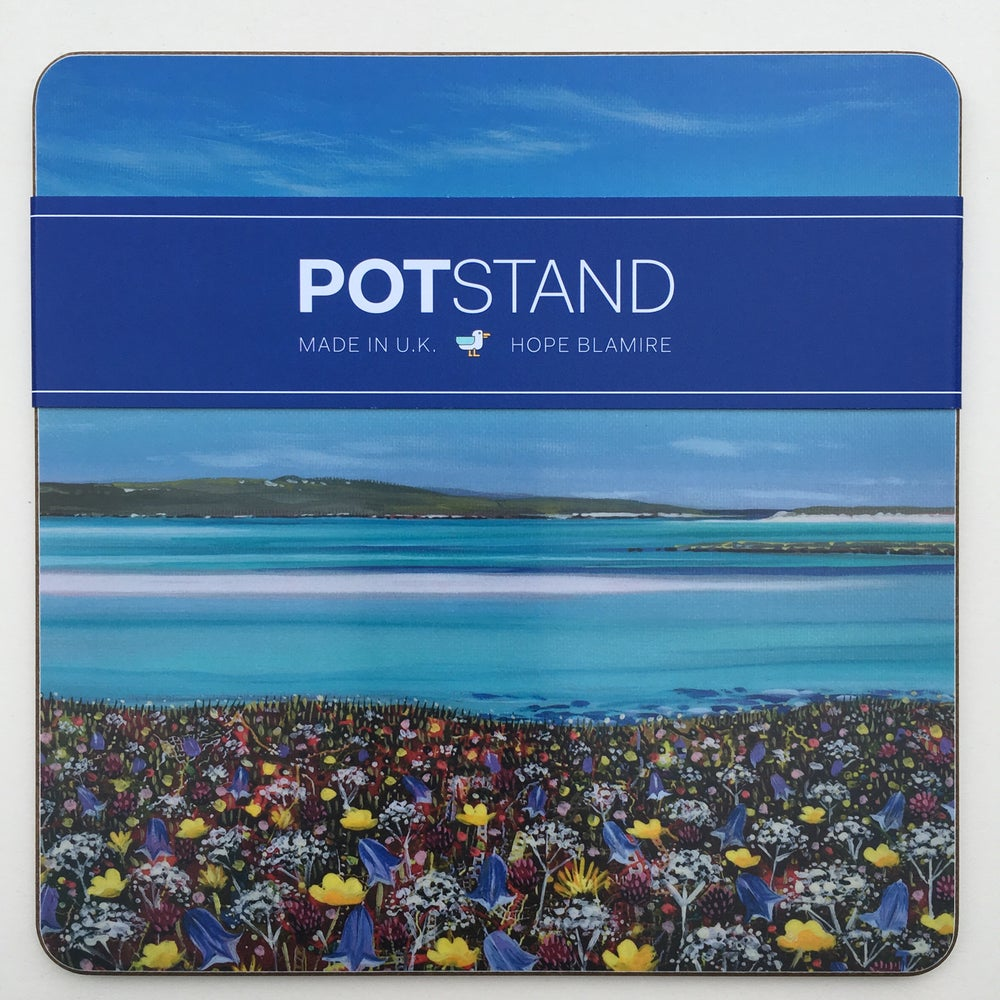 Image of North Uist machair potstand