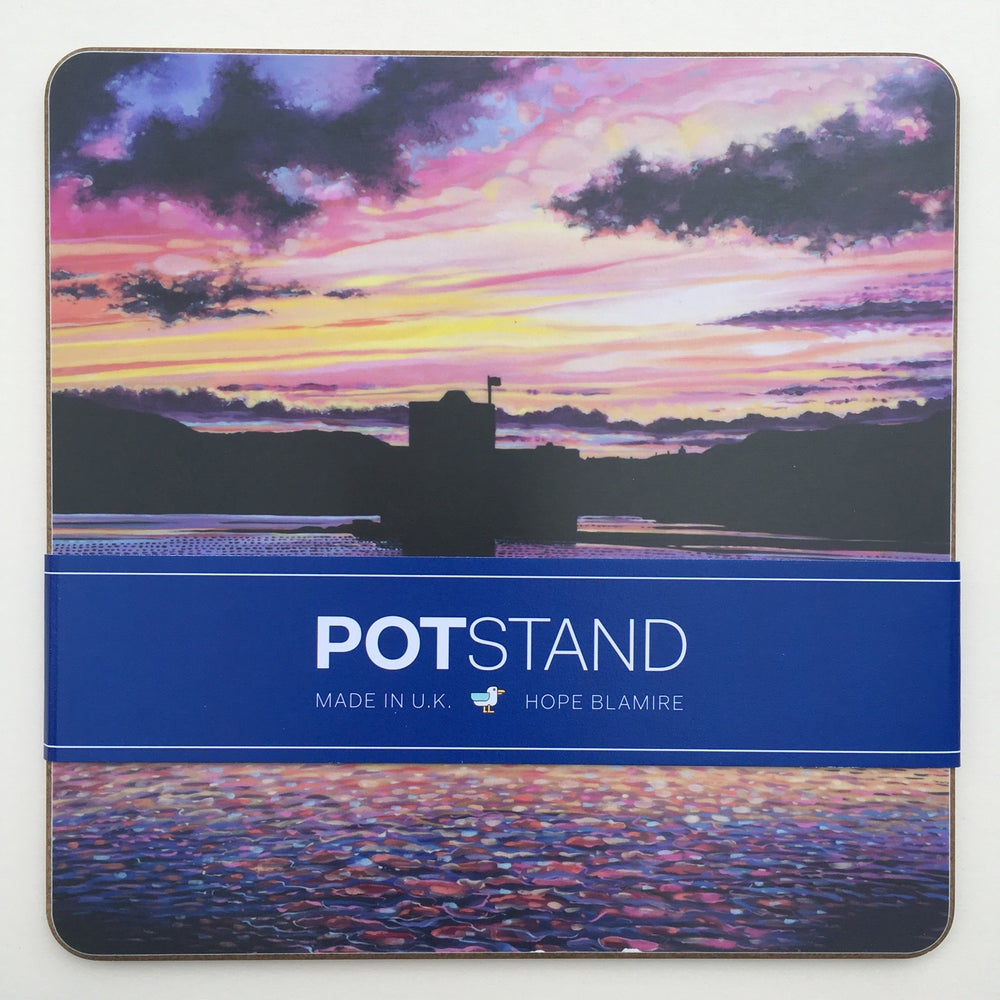 Image of Barra sunset potstand