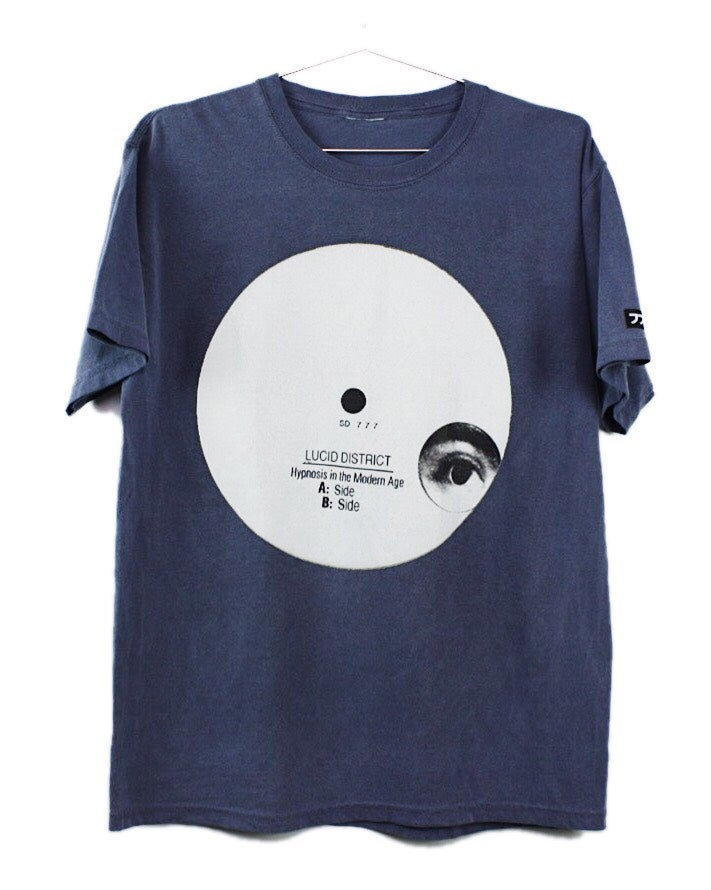 Image of HYPNOSIS IN THE MODERN AGE - TEE - BLUE