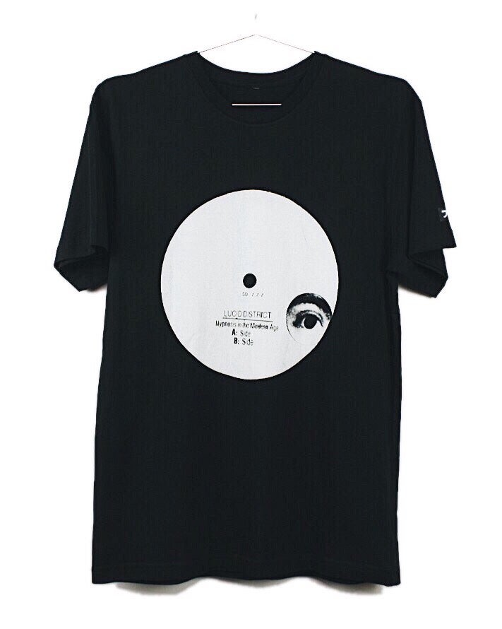 Image of HYPNOSIS IN THE MODERN AGE - TEE - BLACK