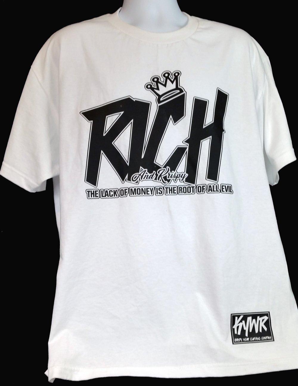 Image of Rich and Krispy crewneck tshirt