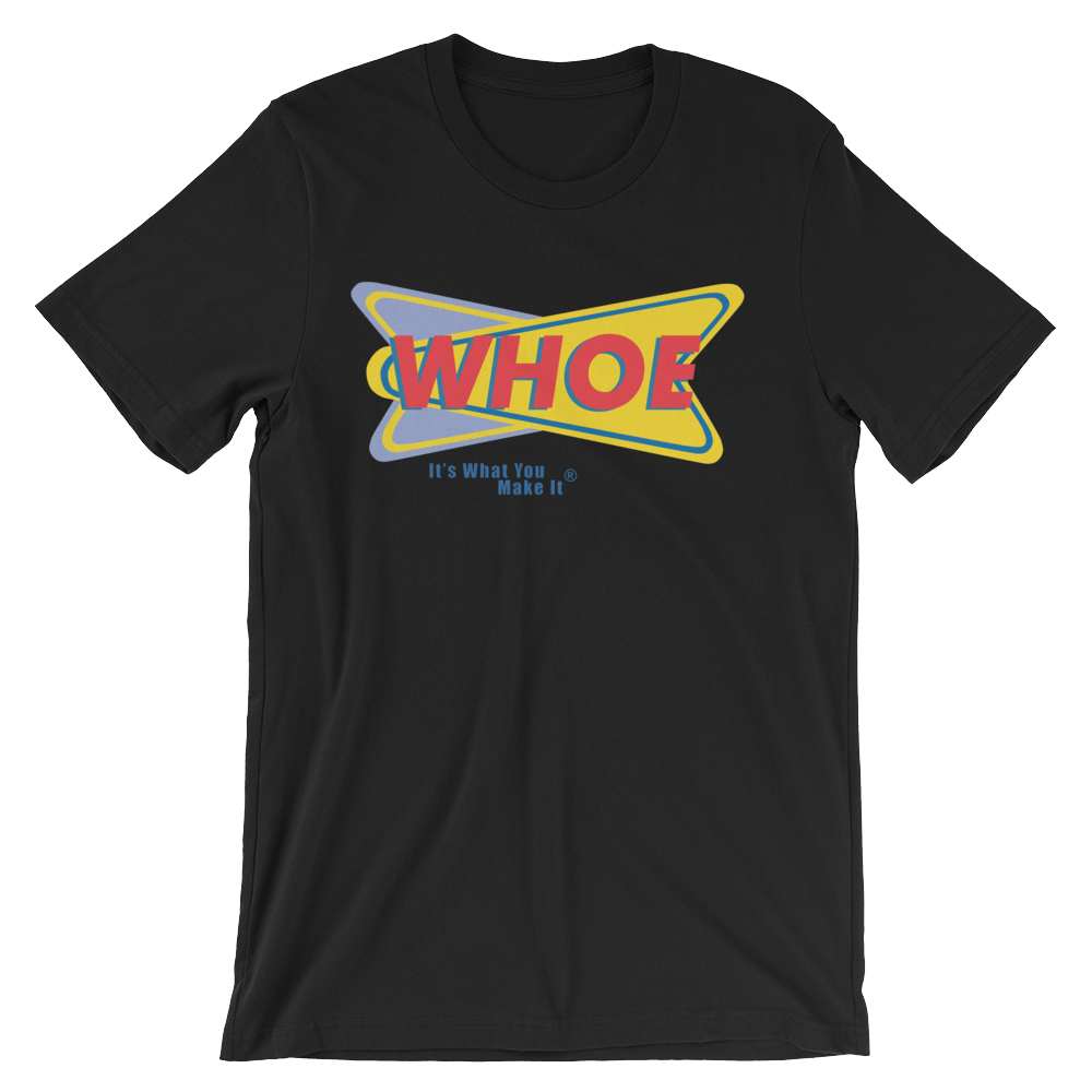 Image of WHOE® America's Favorite Homecoming Shirt (Black or White)