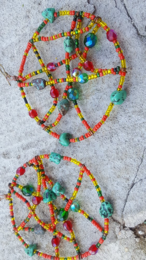 Image of Beaded Dreamcatcher