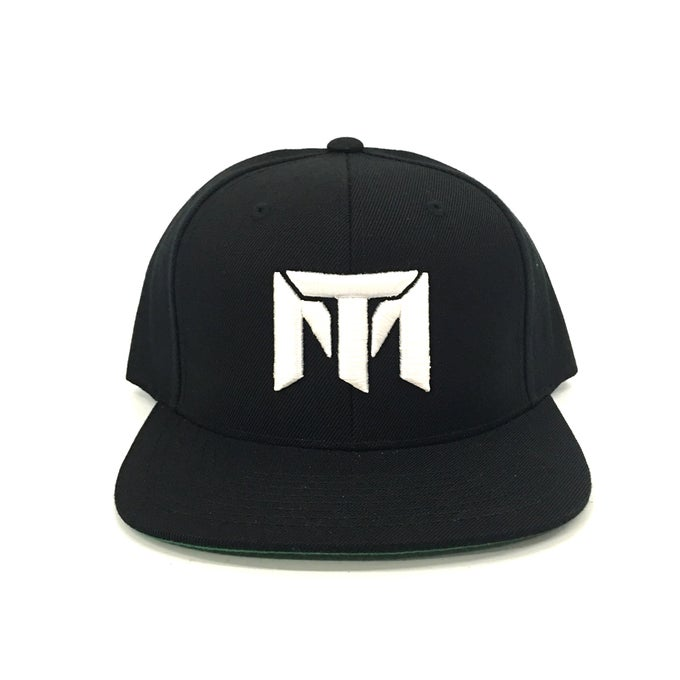 Image of MT Logo Hat (Black/White)