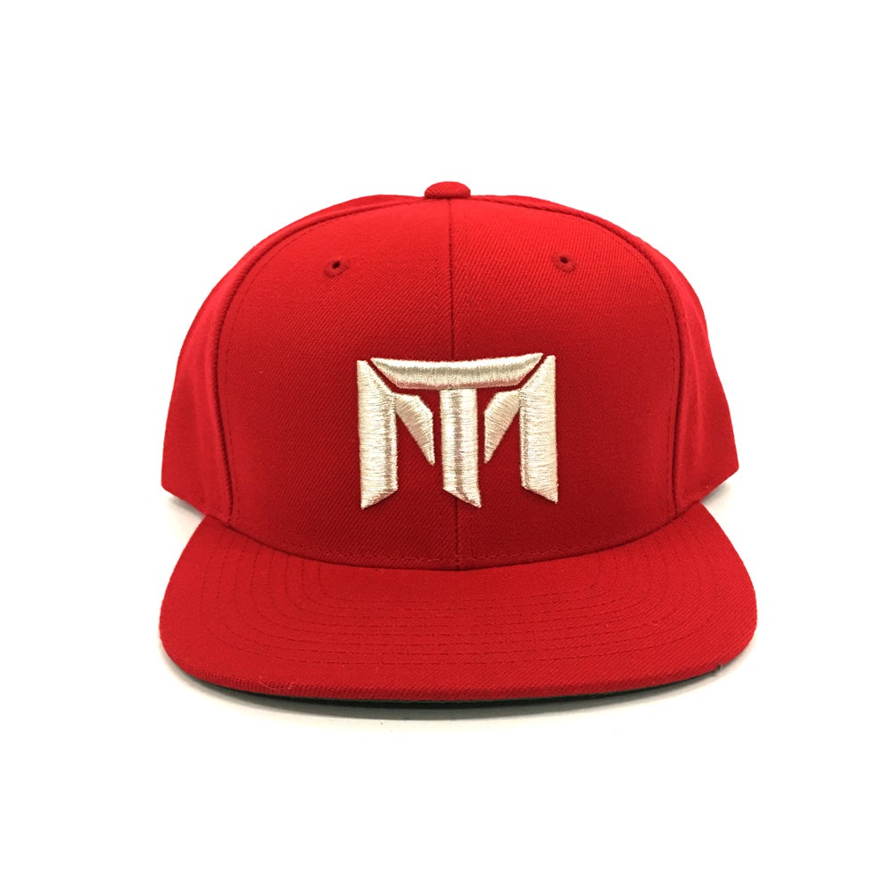 Image of MT Logo Hat (Red/White)