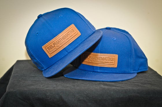 "Image of SELFMATHEMATIKS x NEW ERA, GENUINE LEATHER, ""THINKIN' CAP"" SNAP BACK"