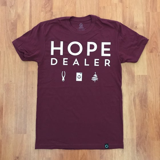 Image of HOPE DEALER - Maroon