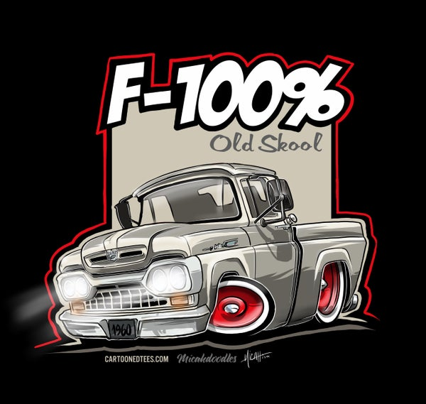 Image of '60 F100% Fleetside white