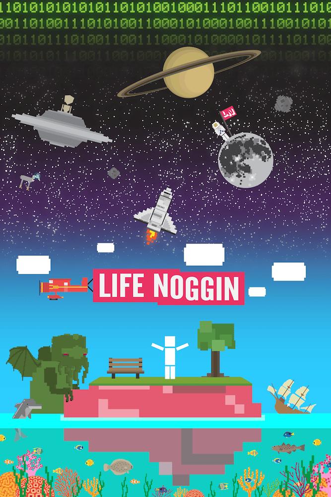 Image of Life Noggin Poster