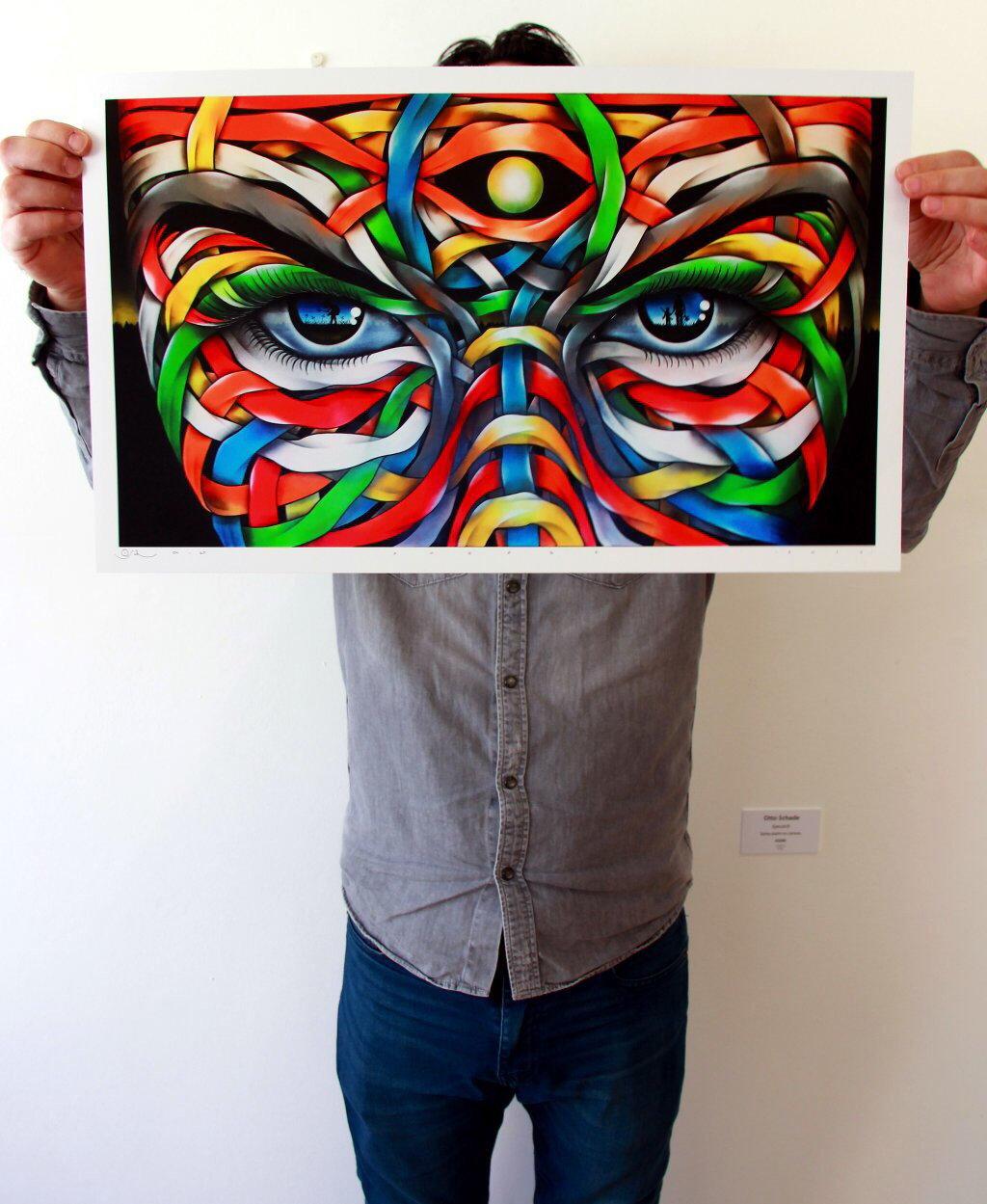 Image of Otto Schade - MAGIC MOON (Print)