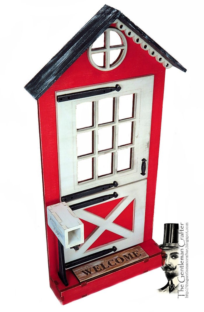 Image of #106 Fairy Lane-Fairy Door Wood Kit