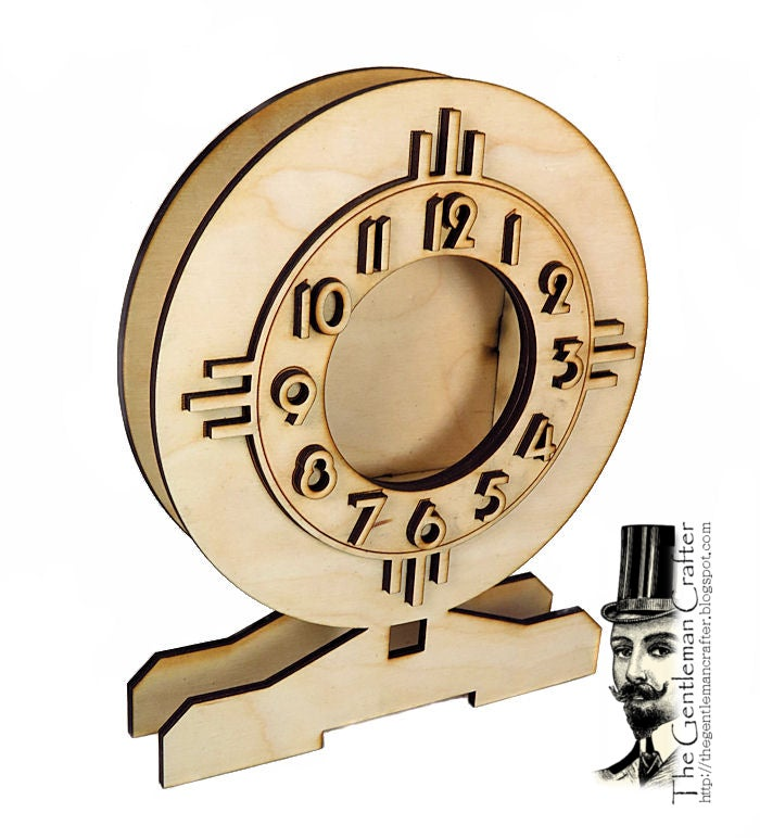 Image of Wood Shrine Kits- Retro Clock
