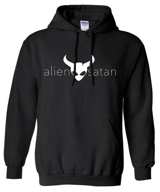 Image of OFFICIAL - ALIEN SATAN - PULL OVER HOODIE