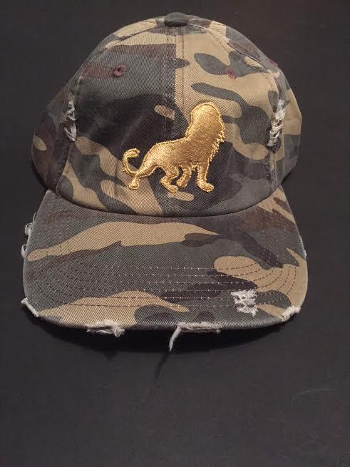 """Image of León """"Dad"""" Hat (Camo)"""